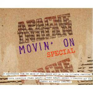 Cover - Apache Indian: Movin' On